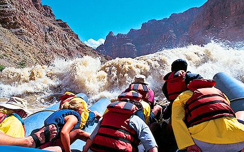 Colorado River Rafting Through Cataract Canyon